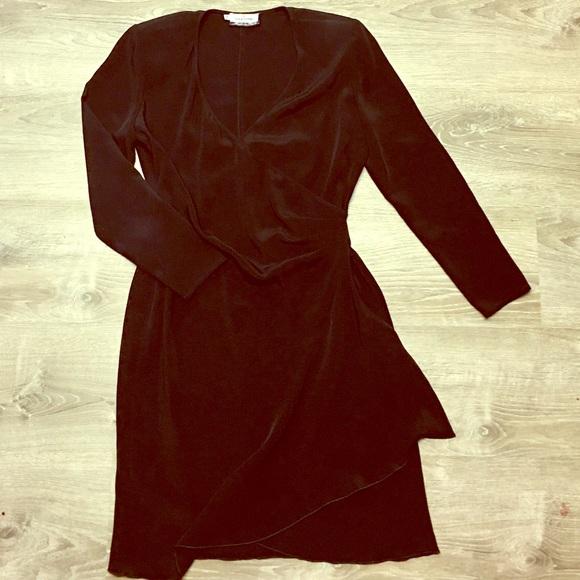 Valentino Dresses & Skirts - Valentino Miss V Side Ruched Black Dress S…